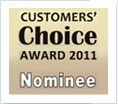 Customer Choice Award 2011